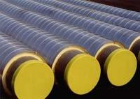 Трубопроводы с вальцованной витой оболочкой из оцинкованной стали – для наземной прокладки трубопроводов тепловых сетей.
