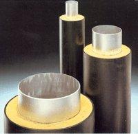 Трубопроводы с тепловой изоляцией из пенополиуретана и сплошной защитной оболочкой из полиэтилена