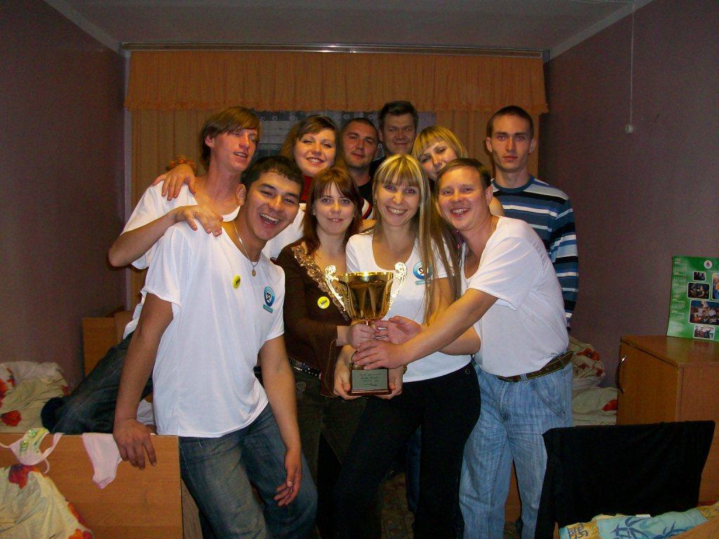 Кубок Самой песпективной команде МИКС-2008
